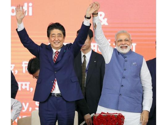 Nhật - Ấn hợp tác kiềm chế Trung Quốc - ảnh 1