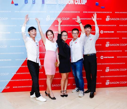 """Dàn thí sinh đa dạng trong """"1 tỉ khởi nghiệp cùng Saigon Co.op"""" - Ảnh 1."""