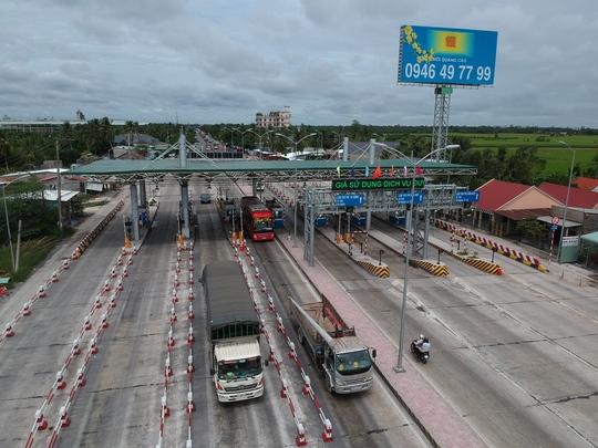 Chủ BOT Cai Lậy: Trả dự án nếu dời trạm vào đường tránh - Ảnh 1.