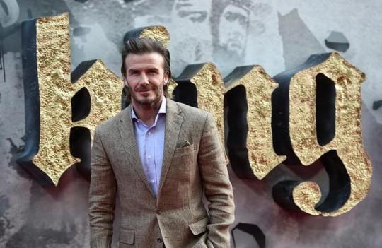 David Beckham bị chê diễn xuất tơi bời. - ảnh 1