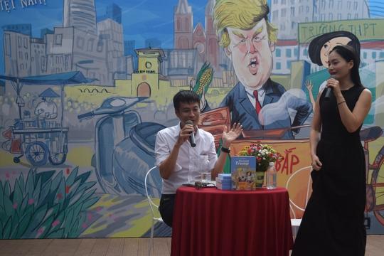 Đạo diễn Lê Hoàng viết Donald Trump và cô bé Sài Gòn trong 24 ngày - Ảnh 1.