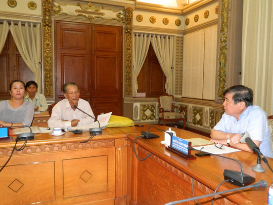 Khi Chủ tịch UBND TP HCM ra tay xử khiếu nại kéo dài - Ảnh 1.