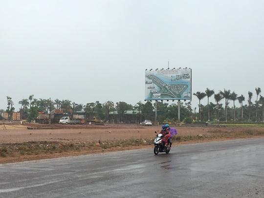 Dự án khu biệt thự được Công ty CP Quốc Thắng, do ông Cảnh làm Chủ tịch HĐQT triển khai tại TP Quy Nhơn