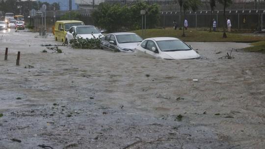 Càn quét Hồng Kông, Macau, bão Hato tràn vào Trung Quốc - Ảnh 1.