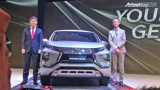 Xe 7 chỗ Mitsubishi Expander 2018 giá từ 321 triệu đồng - Ảnh 1.