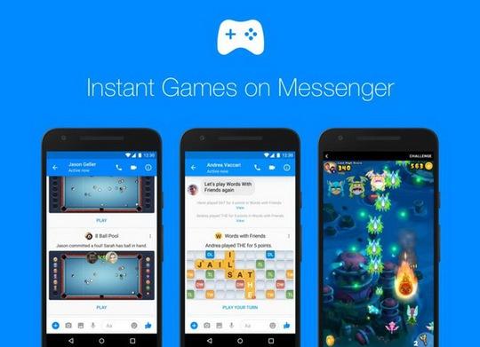 Ứng dụng Game trên Messenger đã có mặt trên toàn cầu với nhiều tính năng và trò chơi mới