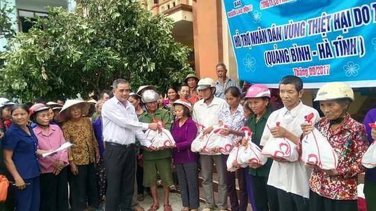 Báo Người Lao Động cùng Vissan cứu trợ người dân vùng tâm bão - Ảnh 3.