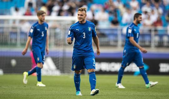 U20 Ý mất người vẫn ngược dòng hạ Zambia - Ảnh 4.