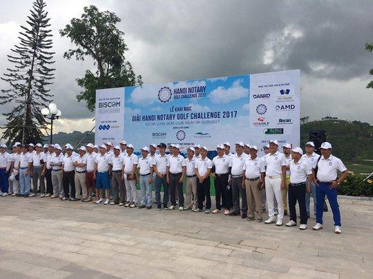 Giải HANOI NOTARY GOLF 2017 chính thức khởi tranh tại FLC Halong Golf Club - Ảnh 1.