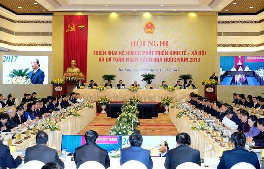 Tổng Bí thư, Chủ tịch nước, Chủ tịch QH dự họp Chính phủ với các địa phương - Ảnh 1.