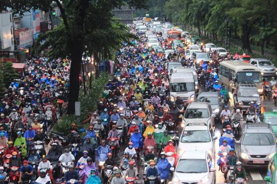 Lập tổ phản ứng nhanh xử TNGT đường vào sân bay Tân Sơn Nhất - Ảnh 1.