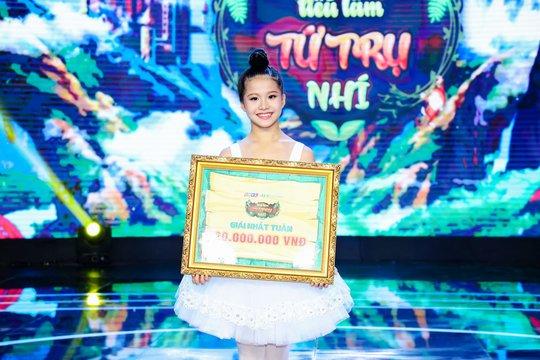 Cô bé 10 tuổi múa ballet khiến Ốc Thanh Vân khóc nức nở - Ảnh 3.