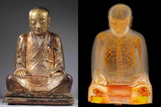 Cuộc chiến quanh bức tượng chứa xác ướp 1.000 tuổi - Ảnh 1.