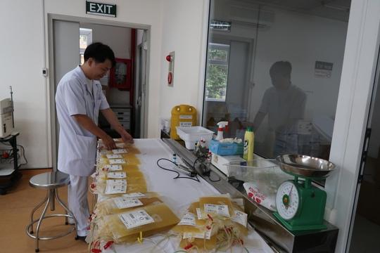 Bệnh viện Chợ Rẫy vận động hiến tiểu cầu - Ảnh 1.