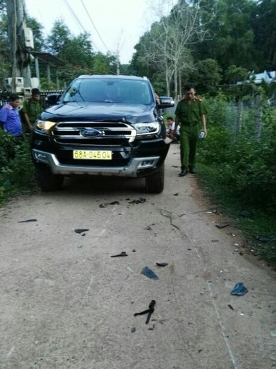 Cán bộ địa chính ở Phú Quốc lái ôtô tông chết người - Ảnh 1.