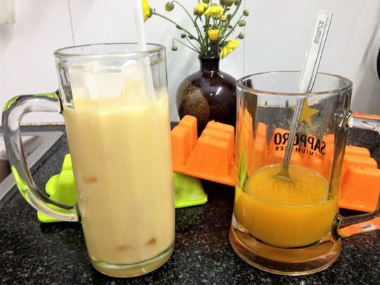 Giải khát cùng chanh dây sữa tươi - Ảnh 1.