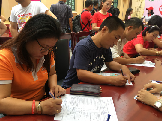 600 cựu học sinh hiến máu cứu người bị TNGT - ảnh 6