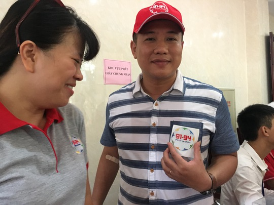 600 cựu học sinh hiến máu cứu nạn nhân TNGT - Ảnh 10.