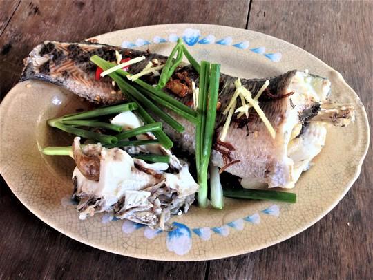 Đĩa cá lóc thơm ngon