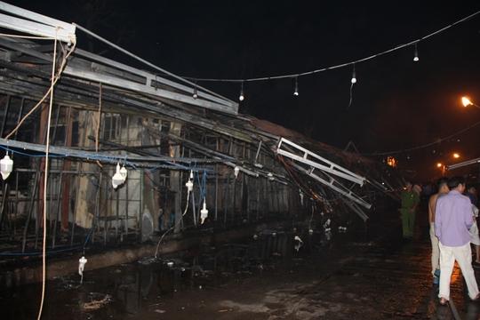 Cháy kinh hoàng ở chợ đêm Phú Quốc - Ảnh 5.