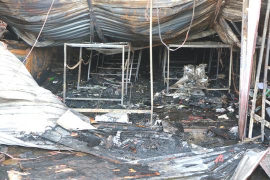 Cháy xưởng bánh kẹo ở Hà Nội, 8 người tử vong - Ảnh 16.