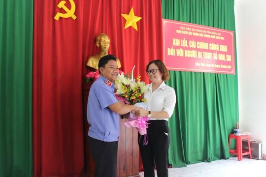 Truy tố oan sai, VKSND Biên Hòa xin lỗi một nữ kế toán - Ảnh 1.