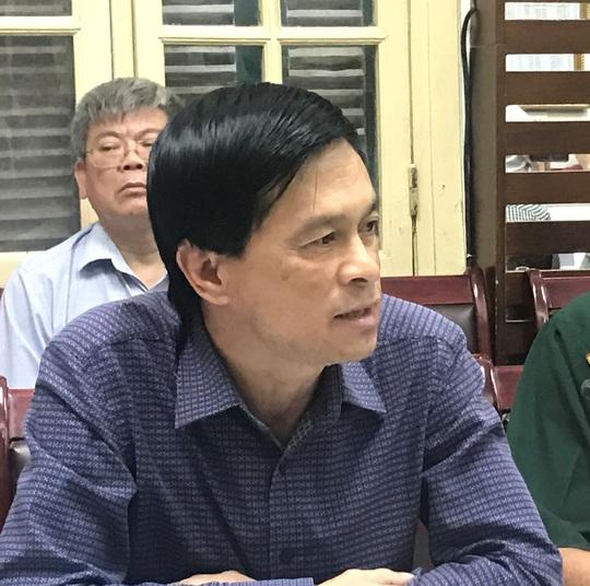 Cả phòng họp cười ồ khi đại diện Hà Nội nói vỡ đê có kế hoạch - Ảnh 1.