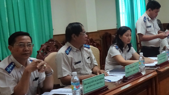 Bắt Chánh Văn phòng Cục Thi hành án Dân sự Bình Định - Ảnh 1.