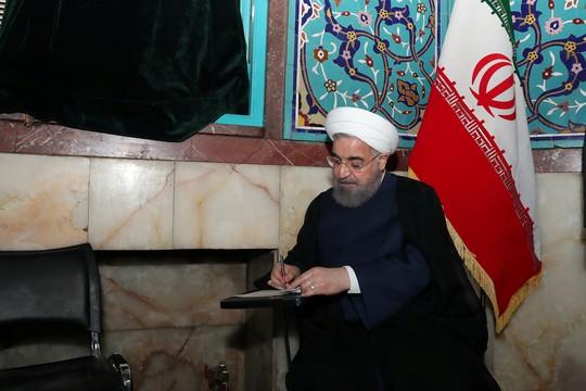 Ông Rouhani tái đắc cử tổng thống Iran - Ảnh 1.