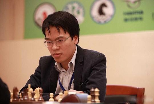 Kỳ thủ Trung Quốc nể Quang Liêm - Ảnh 1.