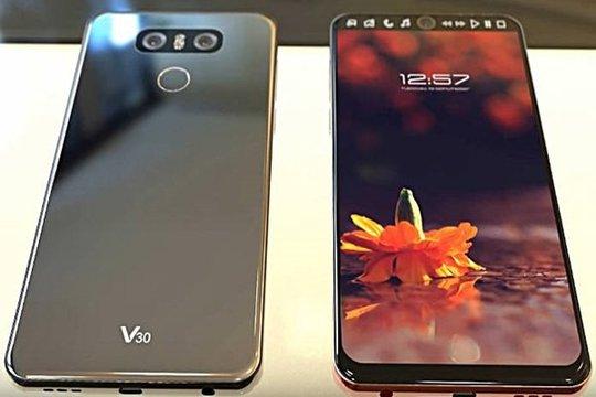 LG V30 rò rỉ, smartphone 2 màn hình, 4 camera - Ảnh 1.