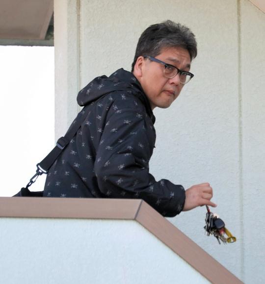 Nghi phạm bị bắt tên Shibuya kiyomasa, 46 tuổi, làm công việc kinh doanh bất động sản. Ảnh: ASAHI