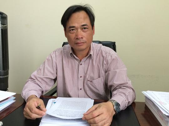 Ông Lương Duy Hanh bị điều chuyển sang Vụ Pháp chế làm việc với chức danh chuyên viên - Ảnh: Dân trí