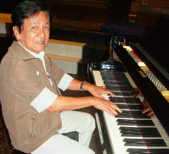 Nhạc sĩ Mặc Thế Nhân Ảnh: THANH HIỆP