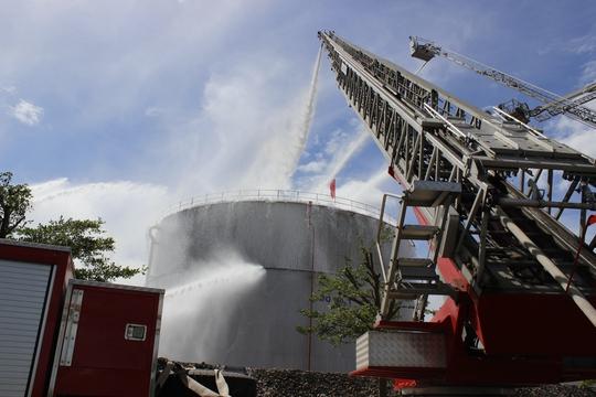 3 tỉnh, thành diễn tập chữa cháy tại Nhiệt điện Phú Mỹ - Ảnh 8.