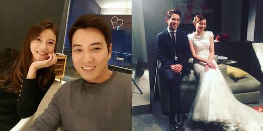 Những cặp đôi phim giả tình thật nổi tiếng Hàn Quốc - Ảnh 5.