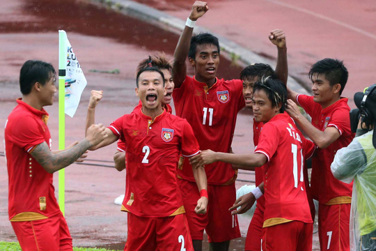 U22 Myanmar và chủ nhà cùng thắng - Ảnh 1.