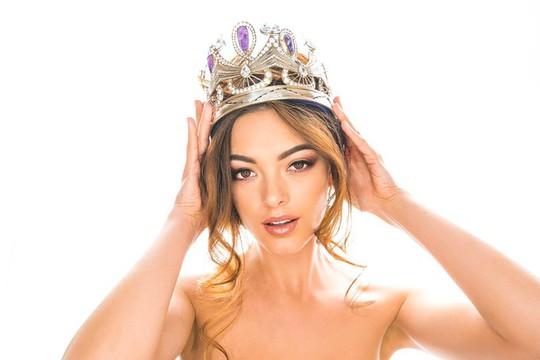 Cận cảnh nhan sắc tân Hoa hậu Hoàn vũ - Ảnh 9.