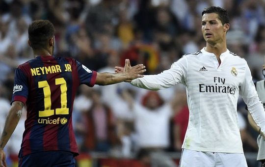 Neymar sẵn sàng thay Ronaldo - Ảnh 1.