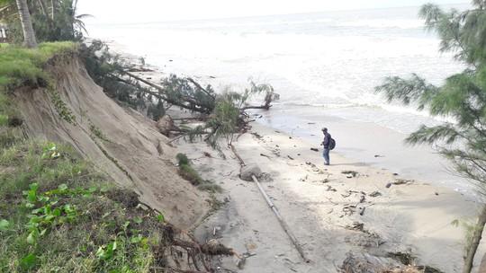 Chùm ảnh: Bờ biển Cửa Đại tan hoang hơn 2 km - Ảnh 9.