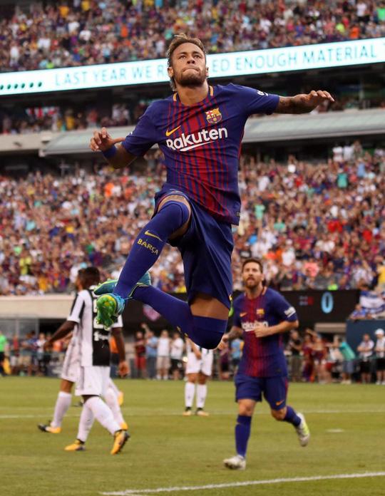 Neymar tỏa sáng, Barcelona thắng nhẹ Juve - Ảnh 1.