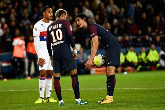 Neymar không nhìn mặt Cavani trong buổi tập - Ảnh 1.