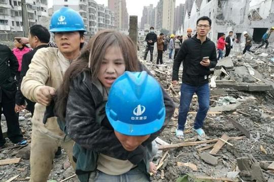 Nổ nhà máy chấn động Trung Quốc - Ảnh 1.