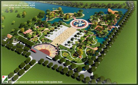 Hội An kêu gọi đóng góp xây công viên – đài tưởng niệm 32 tỉ - Ảnh 1.