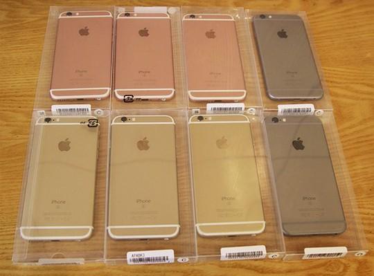 Loại sản phẩm iPhone nearnew vừa xuất hiện tại Việt Nam. Ảnh: Trung Trí.