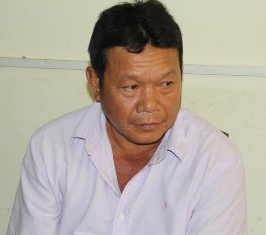 Đối tượng Nguyễn Văn Khiêm.