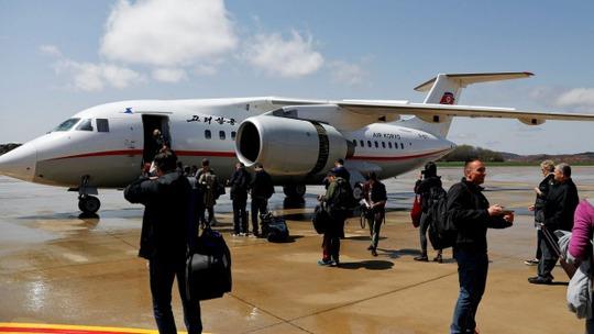 Máy bay của Air Koryo. Ảnh: Reuters