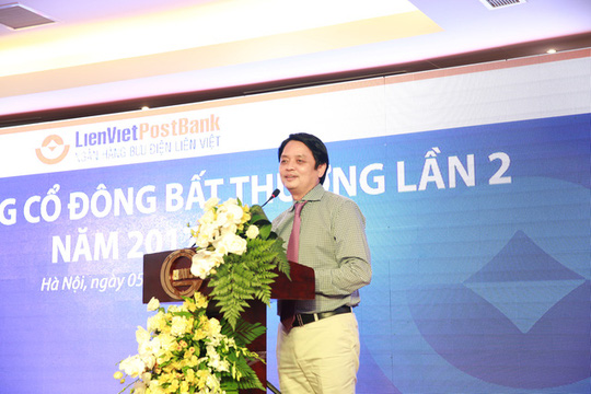 Chủ tịch LienVietPostBank phủ nhận tin đồn sáp nhập Sacombank - Ảnh 1.