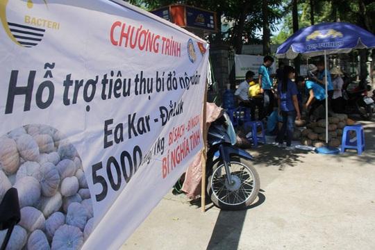 """Huế chung tay """"giải cứu bí đỏ"""" cho nông dân Đắk Lắk - Ảnh 1."""