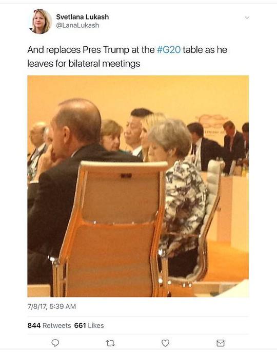 Ivanka Trump thế chỗ cha ở G20
